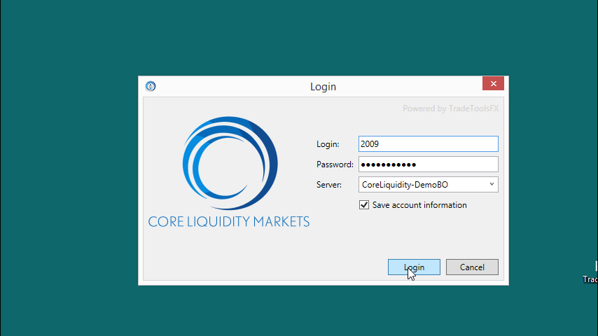 Core liquidity markets binary options